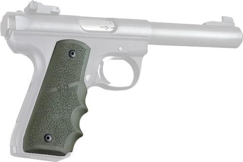 HOGUE GRIPS RUGER 22/45 OD GREEN - Pistol Grips at GunBroker