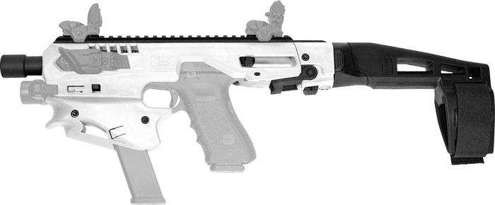 Caa Mck Micro Conversion Kit Glock 9/40 W/Brace White