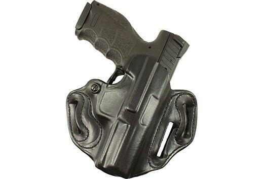 DESANTIS SPEED SCABBARD HOLSTR RH OWB LEATHER SIG P229R BLACK