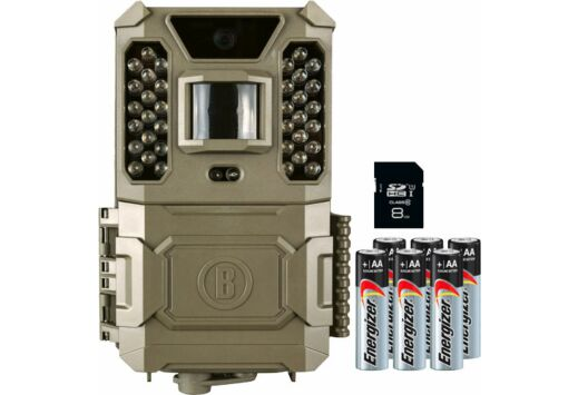 BUSHNELL TRAIL CAM CORE PRIME 24MP LOW GLO SD CARD/BATTERIES
