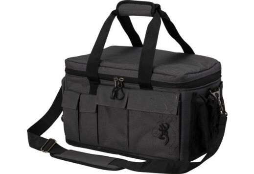 "BG PRO RANGE BAG W/CARRY STRAP 16.5""W X 9.5""H X 10""D BLACK"