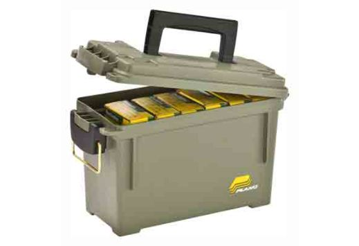 "PLANO FIELD BOX AMMO CAN GREEN SOLD BY EACH 11.63""X713""X5.13"""
