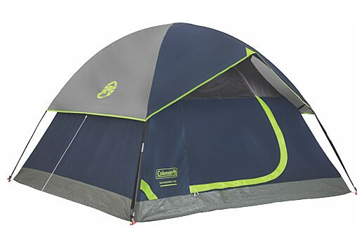 COLEMAN SUNDOME TENT 7' X 7' 3 PERSON