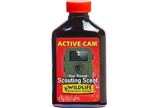 WRC DEER LURE ACTIVE-CAMERA SCOUTING SCENT 4FL OZ