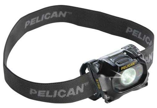 PELICAN 2750 LED 259 LUMEN HEADLAMP W/ PIVOTING HEAD