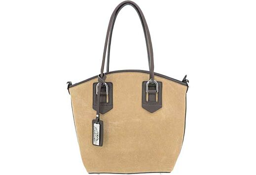 CAMELEON SELENE CONCEAL CARRY PURSE OPEN TOTE TAN