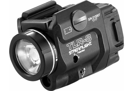 STREAMLIGHT TLR-8 LIGHT/LASER RAIL MOUNT C4 LED W/LASER