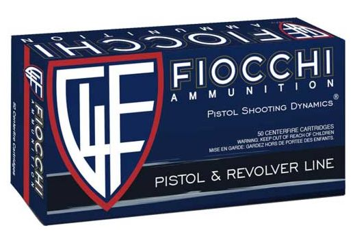 FIOCCHI AMMO 9MM LUGER 147GR. JHP 50-PACK