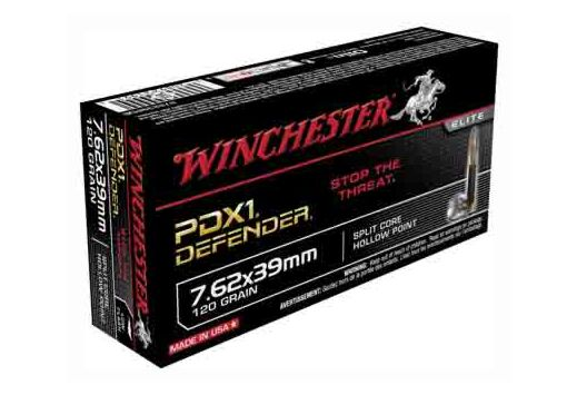 WIN AMMO SUPREME 7.62X39 120GR. PDX1 DEFENDER 20-PACK