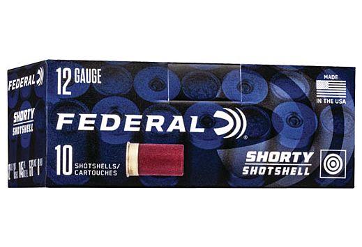 "FED AMMO 12GA. 1 3/4"" #8 SHORTY SHOTSHELL 10-PACK"