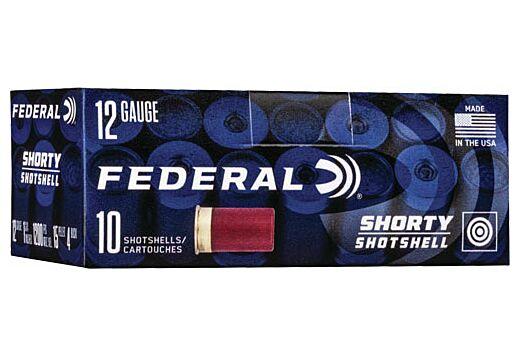 "FED AMMO 12GA. 1 3/4"" RIFLED SLUG SHORTY SHOTSHELL 10-PACK"