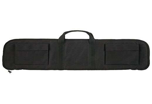 "BULLDOG TACTICAL SHOTGUN CASE 42"" BLACK 2 EXTERNAL POCKETS"