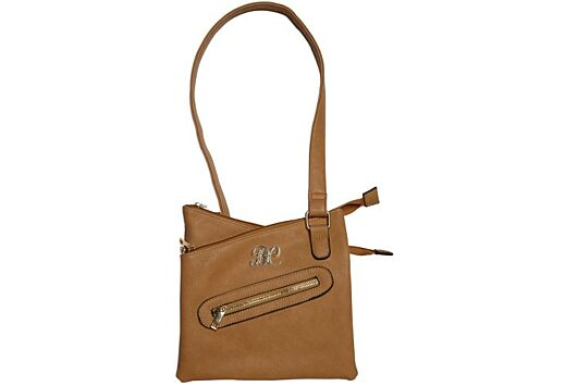 BULLDOG CONCEALED CARRY PURSE CROSS BODY STYLE TAN