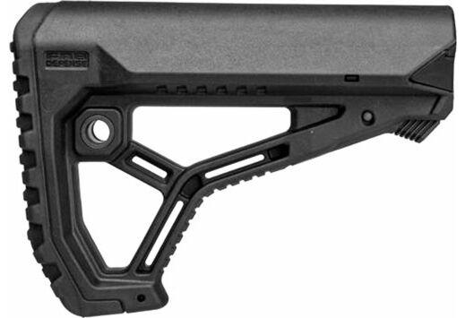 F.A.B. DEFENSE BUTTSTOCK AR-15 /M4 BLACK MIL-SPEC/COMMERCIAL