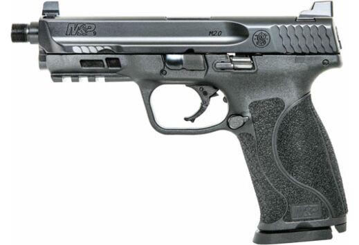 """S&W M&P9 M2.0 9MM 4.625"""" FS 17-SHOT THREADED BBL BLACK PLY"""