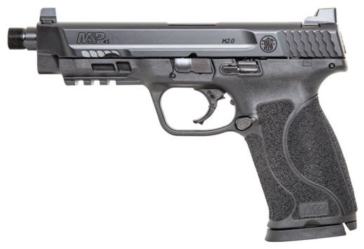 "S&W M&P45 M2.0 .45ACP 5.125"" FS 10-SH THREADED ARMORNITE PL"