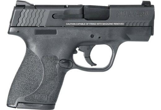 S&W SHIELD M2.0 M&P9 9MM  FS BLACKENED SS/BLACK POLYMER