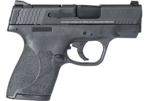 S&W SHIELD M2.0 M&P9 9MM NIGHT SIGHT NO THUMB SAFETY BLK