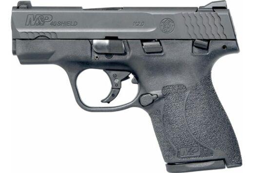 S&W SHIELD M2.0 M&P40 40S&W FS BLACKENED SS/BLACK POLYMER