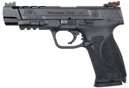 """S&W PERFORMANCE CENTER M2.0 .40 5"""" 15-SHOT PORTED POLY"""