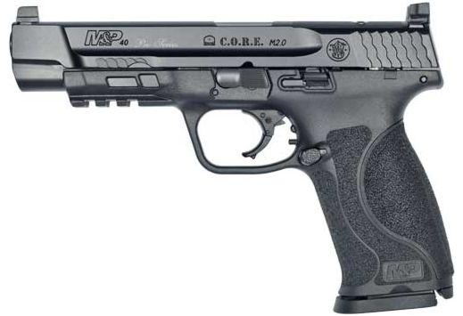 """S&W PERFORMANCE CENTER M2.0 C.O.R.E. 40CAL 5"""" 15-SHOT POL"""
