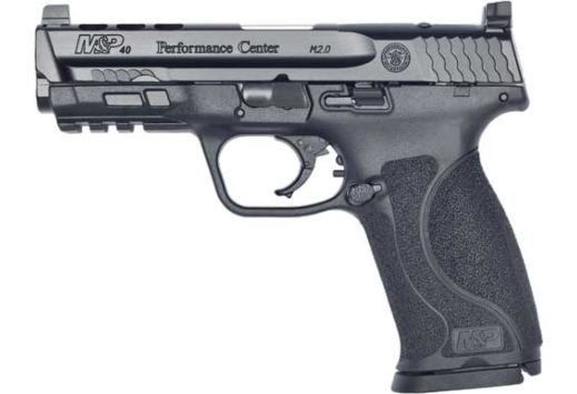 """S&W PERF CENTER M&P M2.0 CORE PORTED 40CAL 4.25"""" 15-SHOT POL"""