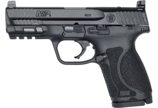 S&W M&P9 M2.0 COMPACT 9MM OR 15-SHOT ARMORNITE FINISH POLY