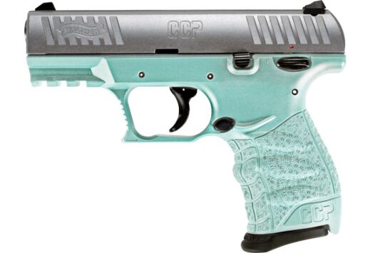 WALTHER CCP M2 .380ACP 3.54 FS 8-SHOT SS/ANGEL BLUE POLYMER