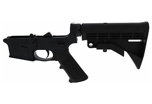 ANDERSON COMPLETE AR-15 LOWER RECEIVER BLACK CLOSED