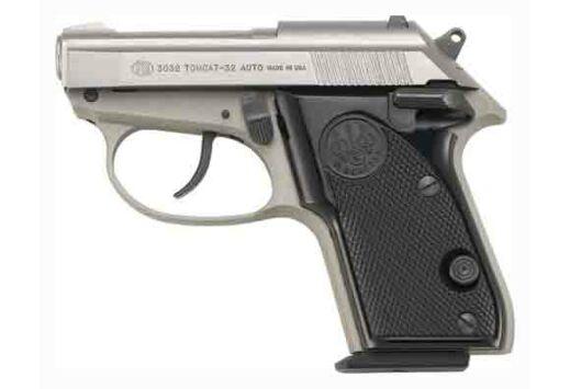 """BERETTA 3032 .32ACP 2.4"""" FS 7-SHOT INOX BLACK POLYMER"""
