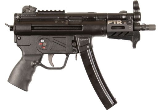"PTR PTR-9KT PISTOL 9MM LUGER 5.83"" THREADED 30RD M-LOK BLK"