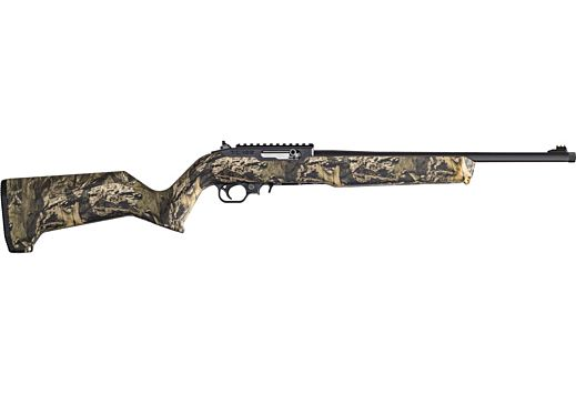 """T/C R22 RIFLE .22LR 10RD 17"""" BLUED/MO BREAK-UP COUNTRY"""