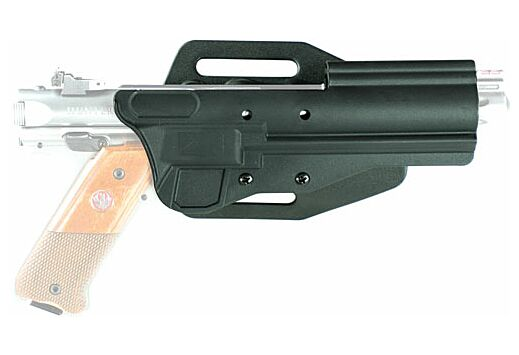 TACSOL HOLSTER HIGH RIDE BLACK FOR RUGER 22/45 AND MK SERIES