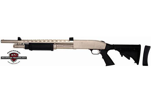 ADV. TECH. SHOTFORCE STOCK FOR MBERG,REM,WIN 12GA. PUMPS BLK