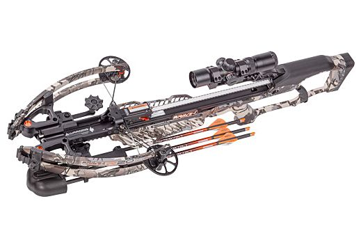 RAVIN CROSSBOW KIT R20 W/3- ARROWS PREDATOR CAMO 430FPS