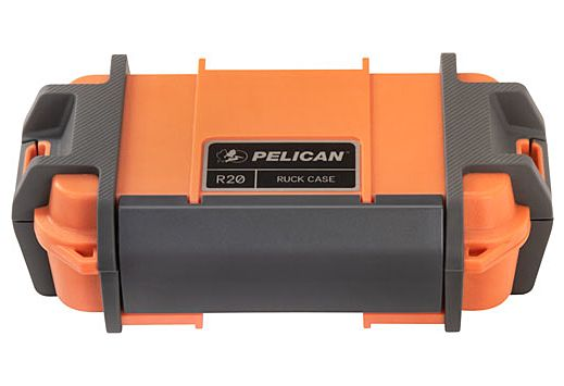 "PELICAN RUCK CASE MEDIUM R20 W/DIVIDER ORG ID 7.1""X3.4""X2"""