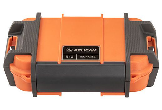 """PELICAN RUCK CASE LARGE R40 W/DIVIDER ORG ID 7.6""""X4.7""""X1.9"""