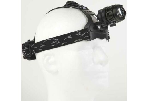GUARD DOG TACTFORCE 600 LUMEN HEADLAMP W/ ZOOM RECHARGEABLE