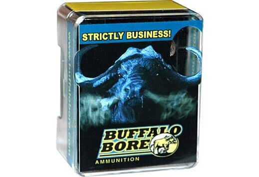 BUFFALO BORE AMMO 9MM LUGER+P+ 147GR. JHP 20-PACK