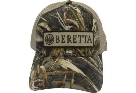 BERETTA CAP TRUCKER W/PATCH COTTON MESH BACK RT-MAX5 CAMO