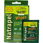 AMK NATRAPEL PICARIDIN WIPES 12 WIPES PER BOX
