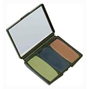 HS FACE PAINT CAMO COMPACS WOODLAND-BROWN,GREEN,BLACK