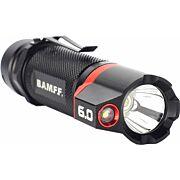 STRIKER BAMFF 6.0 600 LUMENS DUAL CREE LED FLSHLGHT W/FLOOD