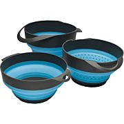 ARB SOL FLAT PACK BOWL COMBO W/SMALL & LARGE BOWL/STRAINER