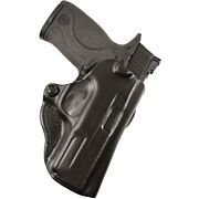 DESANTIS MINI SCABBARD HOLSTER RH OWB LEATHER RUGER LCP II BL