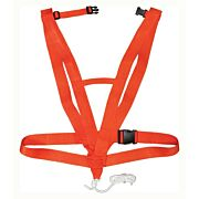 HS DEER DRAG DELUXE BODY HARNESS STYLE SAFETY ORANGE