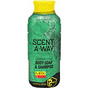 HS BODY WASH & SHAMPOO SCENT-A-WAY MAX 12FL OUNCES