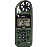 KESTREL 5500 WEATHER METER W/ LINK AND VANE MOUNT OLIVE DRAB