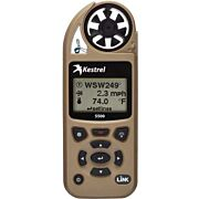 KESTREL 5500 WEATHER METER W/ LINK AND VANE MOUNT DESERT TAN