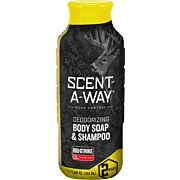 HS BODY WASH & SHAMPOO SCENT-A-WAY BIO-STRIKE 12OZ